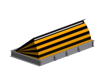 Wedge II Shallow Mount Road Blocker