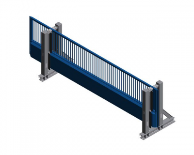 M50 Tracked Sliding Gate