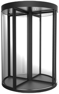 Image of the worlds first Security Revolving Door certified to LPS1175: Issue 8