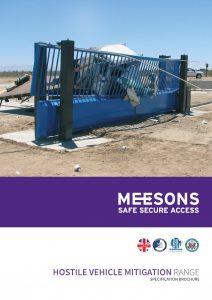 Meesons Hostile Vehicle Mitigation Brochure , HVM solutions