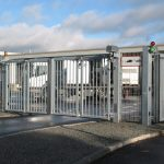 EntraQuick Bi-folding gates Meesons Hostile Vehicle Mitigation