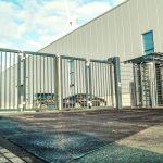 EntraQuick Bi-folding gates Meesons Hostile Vehicle Mitigation