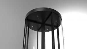 Image of the worlds first Security Revolving Door certified to LPS1175