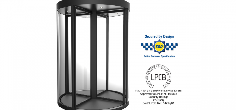 Meeson's Revolving Door Nominated for Outstanding Security Product