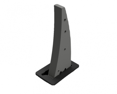M40 CityProtector Removable Shallow Mount Bollard