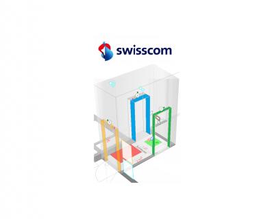 SMACS Secures Swisscom with 3 Door Mantrap