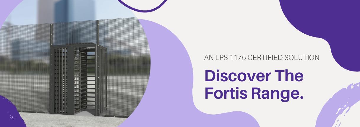 Fortis High Security Turnstile